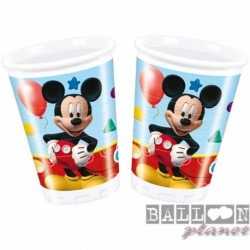 8 Bicchieri Carta Topolino 200 ml