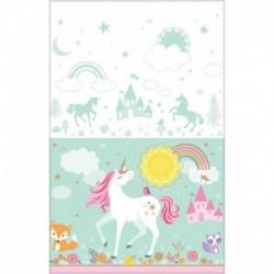 Tovaglia Plastica Unicorno 137x259 cm