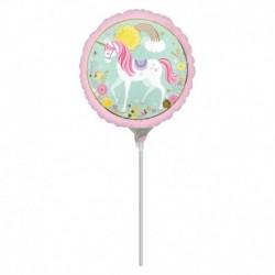 Palloncino Mini Unicorno 25 cm