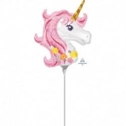 Palloncino Mini Unicorno 30 cm