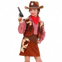 Costume Completo Cow Girl Bambina