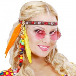 Fascia Hippie Perline Piume