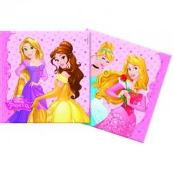 20 Tovaglioli Carta Principesse 33x33 cm