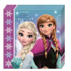 20 Tovaglioli Carta Frozen 33x33 cm