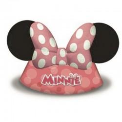 6 Cappellini Carta Minnie 18x16 cm