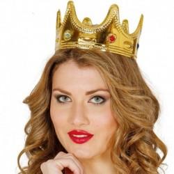 Corona Regina Metallizzata Oro