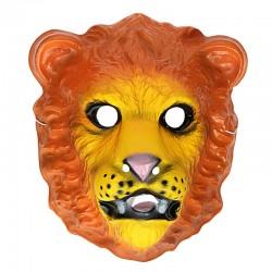 Maschera Plastica Leone
