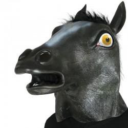 Maschera Lattice Cavallo Nero