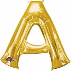 Pallone Lettera A Oro 90 cm