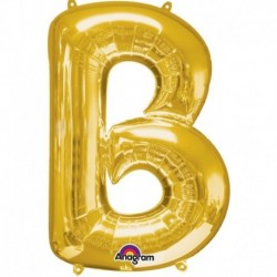 Pallone Lettera B Oro 90 cm