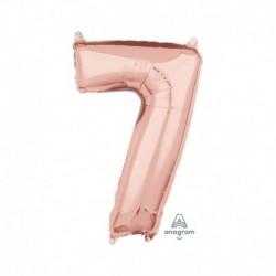 Pallone Numero 7 Rosa Gold 40 cm