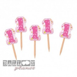 25 Picks Sagomati One Pink 7 cm