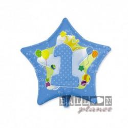 Pallone 1° Compleanno 45 cm