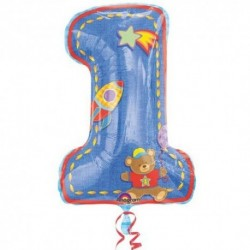 Pallone 1° Compleanno 90 cm