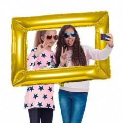 Selfie Frame Gold 85x60 cm