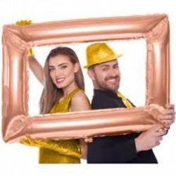 Selfie Frame Rosa Gold 85x60 cm