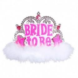 Corona Tiara Bride To Be Marabou