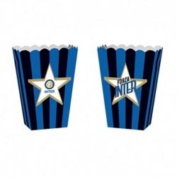 4 Contenitori Popcorn Inter 14x19 cm