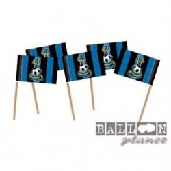 20 Pick Bandierine Inter 7 cm