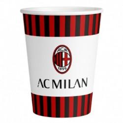 8 Bicchieri Carta Milan 266 ml