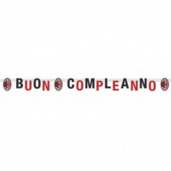 Festone Jumbo Milan 215x15 cm