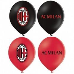 12 Palloncini Lattice Milan 30 cm