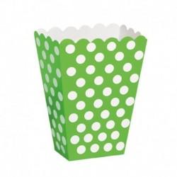 8 Contenitori Popcorn 12x8 cm