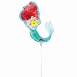 Pallone Sirenetta Ariel 30 cm