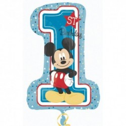 Pallone Mickey 1st Birthday 71 cm