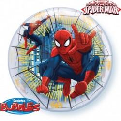Pallone Bubble Spiderman 55 cm