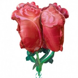 Pallone Bouquet Rose 80 cm