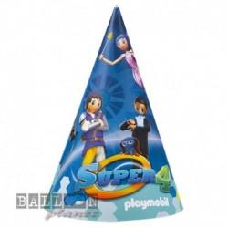 6 Cappellini Carta Playmobil 12x16 cm