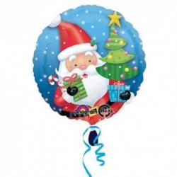 Pallone Babbo Natale 45 cm