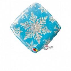 Pallone Snowflake 45 cm