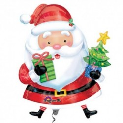 Pallone Babbo Natale 95 cm