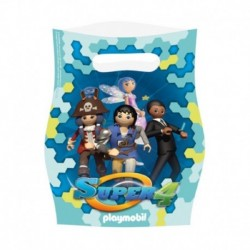 6 Loot Bags Playmobil