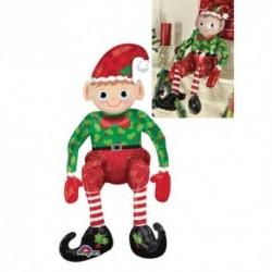 Pallone Elfo Natale 75 cm
