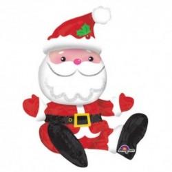 Pallone Babbo Natale 55 cm