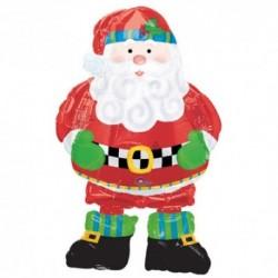 Pallone A. W. Babbo Natale 120 cm