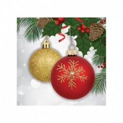 16 Tovaglioli Carta Ornament 25x25 cm