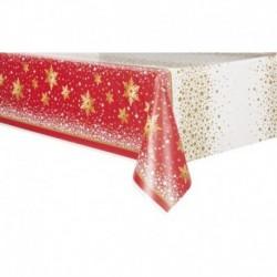 Tovaglia Plastica Christmas 137x213 cm