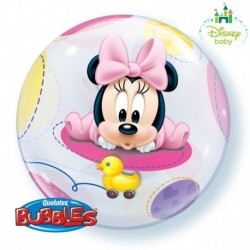 Pallone Bubble Baby Mickey 55 cm