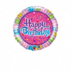 Pallone Happy Bithday 45 cm