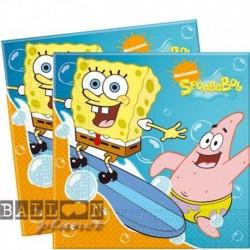 Tovaglia Plastica Spongebob 120x180 cm