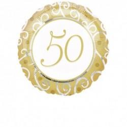 Pallone 50th Anniversary 45 cm