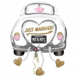 Pallone Car Wedding 80 cm