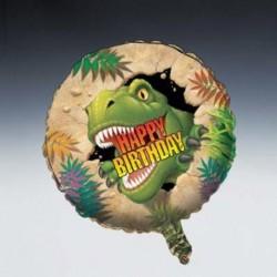 Pallone Foil 45 cm Dinosauri