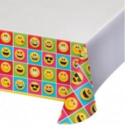 Tovaglia Plastica Emoji 137x264 cm