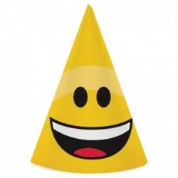 8 Cappellini Carta Emoji 12x16 cm
