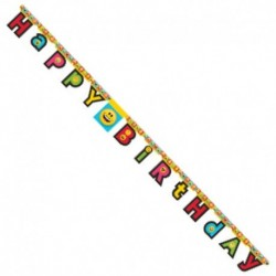 Festone Snodabile Happy Birthday 220 cm